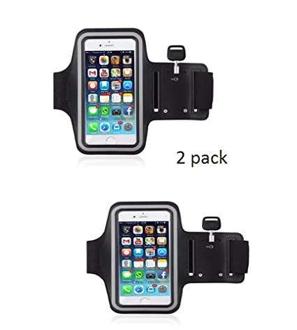 the best attitude 0b194 6f7c2 LOYAL EMPLE Mobile Case for Running Jogging and Gym Activities Sports  Armband Belt for Unisex (5.5 inch) - Pack of 2