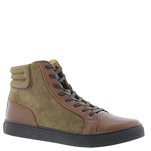 Kenneth Cole REACTION Mens Design 20778 Sneaker Cognac/ Taupe rZQmyBfd