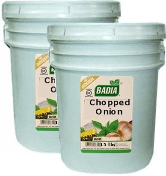 Badia Onion Chopped 15 lbs Pack of 2