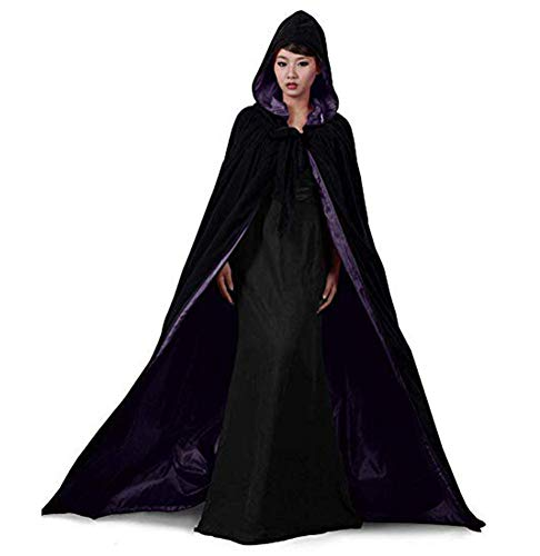 Special Bridal Vampire Cape Cloak with Hood Halloween Costumes Velvet Cape Medieval Cape Long -