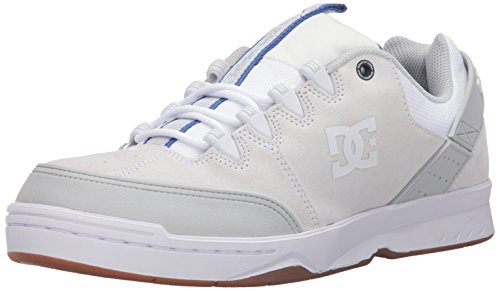 DC Men's Syntax Skateboarding Shoe White/Navy store cheap online lowest price sale online 2014 for sale cheap online store comfortable online MkzF6K
