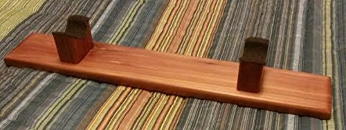 Native American Flute Stand - Hand Made - Made From Aromatic Cedar - Hand Rubbed Finish