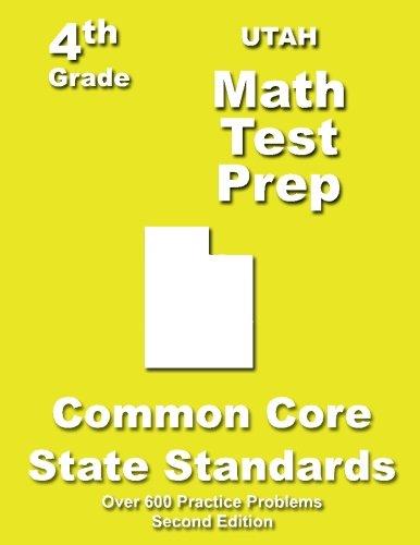 Utah 4th Grade Math Test Prep: Common Core Learning Standards