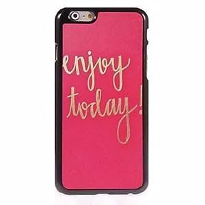 GOG Enjoy Today Design Aluminum Hard Case for iPhone 6 Plus