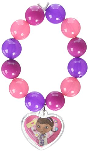 Disney Doc McStuffins Bead Bracelet with Pendant | Party Favor]()