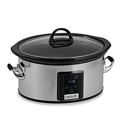 Crock-Pot 6.5-Quart Slow Cooker with eLume Touchscreen by Crock-Pot
