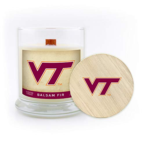 5.8 Oz Sweet Peach Worthy Promo NCAA Washington State Cougars Scented Candle