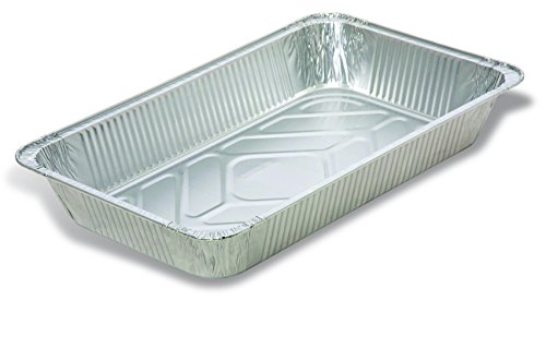 - Trinidad Benham Aluminum Foil Steam Pans, Full Size Deep, Ideal for Cooking, Serving, Prepping Food, Disposable Chafing Dish, Food Service Pans, Wholesale, Bulk, Case of 50