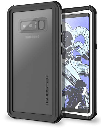 Ghostek Nautical Extreme Waterproof Case Compatible with Samsung Galaxy Note 8 - White