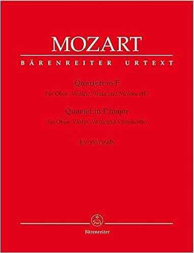 ((FREE)) Mozart: Oboe Quartet In F Major, K. 370 (368b). social quiso Charger Panel Sabado