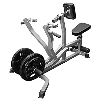 Valor Fitness CB-14 Plate Loaded Seated Row Machine / Leverage Chest Pull with Independent Arms
