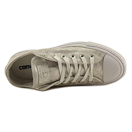 fdb71f0450b Converse Womens Chuck Taylor All Stars Brea Animal Glam OX Low Top Textile  Trainers chic