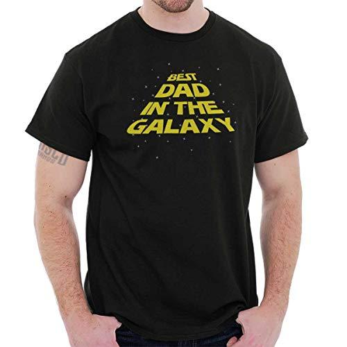Best Dad in Galaxy Cute T Shirt Tee Black (Best Dad In The Galaxy Shirt)
