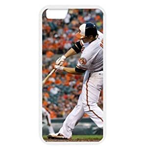 MLB iPhone 6 White Baltimore Orioles cell phone cases&Gift Holiday&Christmas Gifts NBGH6C9125353