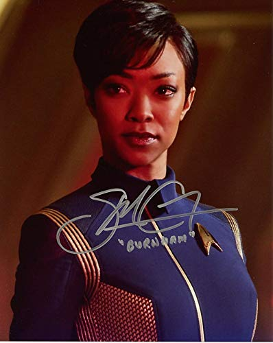 (Sonequa Martin-Green STAR TREK DISCOVERY In Person Autographed)