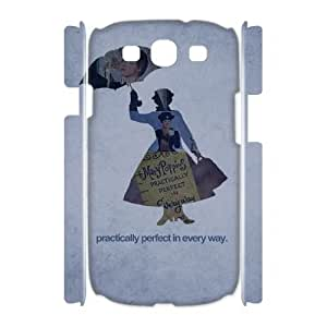 Chinese Mary Poppins Custom 3D Case for Samsung Galaxy S3 I9300,personalized Chinese Mary Poppins Phone Case