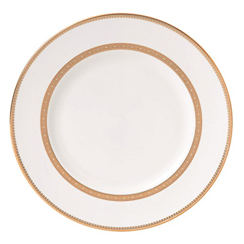 Wedgwood Vera Wang Vera Lace Gold 10-3/4-Inch Dinner ()