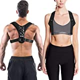 Posture Corrector for WomenandMen, Neck Pain Relief, Upright Go, Back Straightenerand Posture Brace-Back Pain Relief, Betterback Shark Tank - Clavicle Support Brace