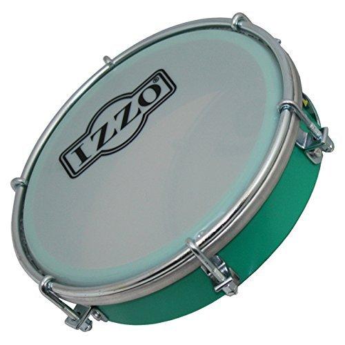 Izzo 6554 6-Inch ABS Tamborim - Green by Izzo