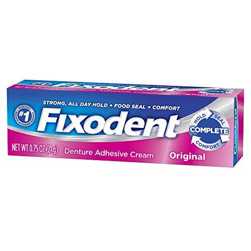 (Fixodent Denture Adhesive Cream Original 0.75 oz (Pack of 8) )