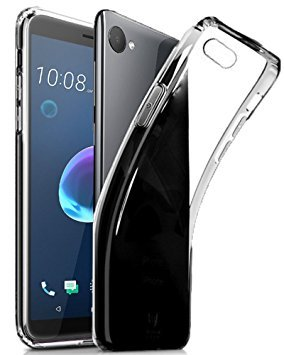 official photos dbab7 5cd30 Helix Transparent Back Cover for HTC Desire 12: Amazon.in: Electronics