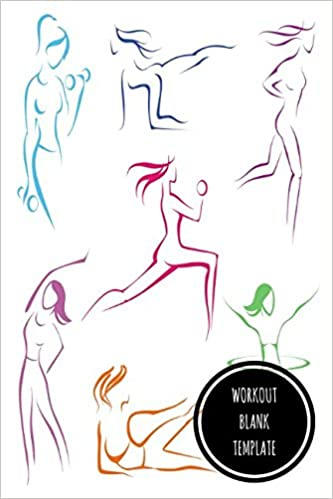 Workout Blank Template Amazonde Journals For All Fremdsprachige Bucher