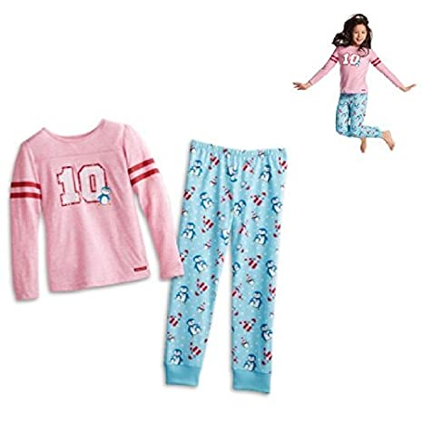 Dolls Dolls & Bears American Girl Doll Holiday Peguin Pjs Truly Me