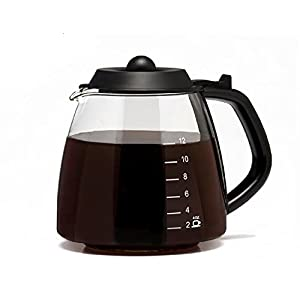 Cafe Brew Universal 12 Cup Replacement Carafe for Cuisinart, Mr. Coffee, Bunn, etc