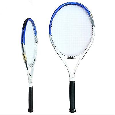 Raqueta de tenis + Covers Con Strap + 1 pelotas de tenis, azul ...