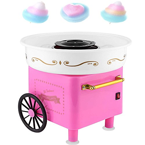 Rapesee Cute Casual Cotton Candy Machine, Stainless Steel Safe Electric Commercial Candy Floss Maker for Family Party … by Rapesee (Image #8)