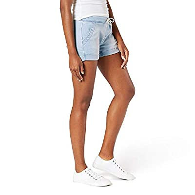 Signature by Levi Strauss & Co. Gold Label Women's Mid-Rise Pull on Shorts | Amazon.com
