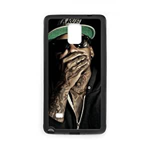 T-TGL(RQ) Samsung Galaxy Note 4 High-Quality Phone Case Kid Ink with Hard Shell Protection