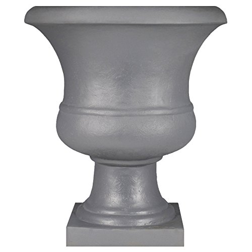 Tusco UR01SL Urn Planter, 17'', Slate by Tusco Products