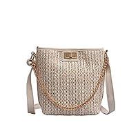 Gogoodgo Crossbody Bag for Women Shoulder Travel Purse Casual Top Handle Tote Bag Crossbody Shoulder Bag Shopping Work Bag White