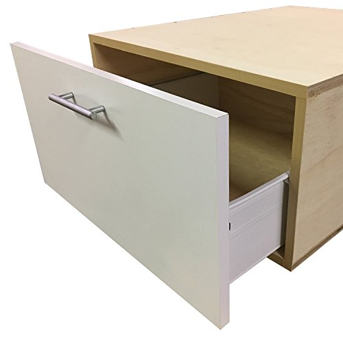 Laundry Pedestal with Storage Drawer - Choose Your Size -