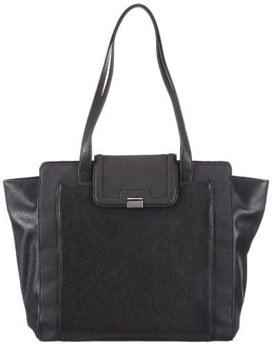 Tasche Esprit - Shopping Bag Black Plastic Woman - Black (black 001)