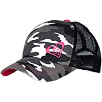 Beth Marie Luxury Boutique Pink Camo Trucker Hat for Women and Girls of All Ages - Very Stylish Trucker Hats for Women!