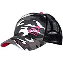 Pink Camo Trucker Hat for Women and Girls of All Ages - Very Stylish Trucker Hats for Women!