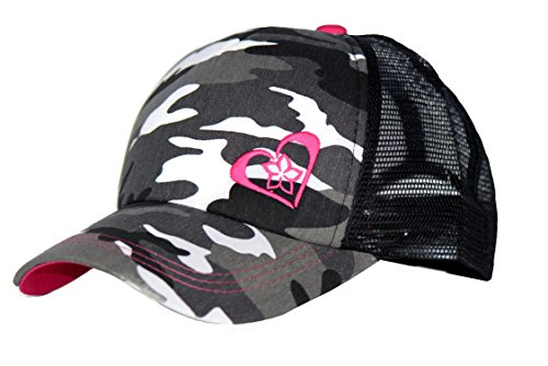 Beth Marie Luxury Boutique Pink Camo Trucker Hat for Women and Girls of All Ages - Very Stylish Trucker Hats for Women! -