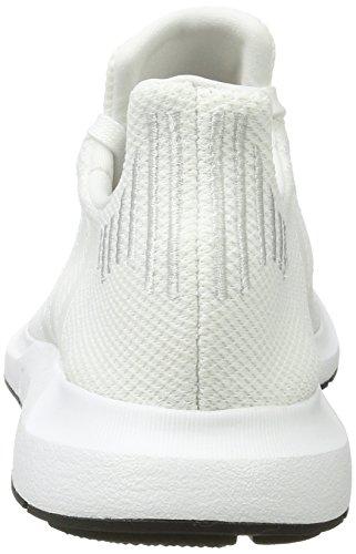 adidas Unisex Adults' Swift Run Trainers, Grey, One Size White (Ftwbla / Balcri / Negbas 000)