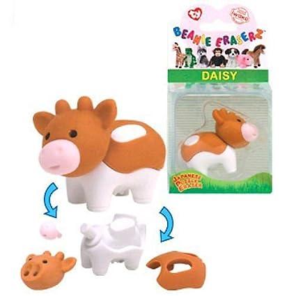 Ty 39002 Beanie Eraserz - Daisy Vaca