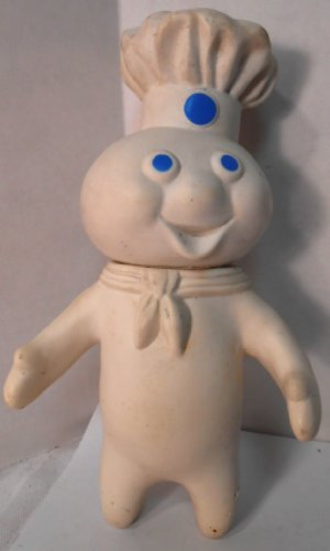 Pillsbury Doughboy Squeezable Rubber 7