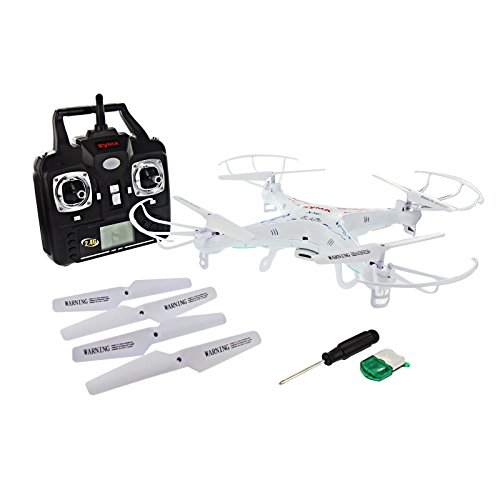 Syma 2.4GHz 4-Channel RC Quadcopter with Gyro and Camera - Venom Electric Helicopter