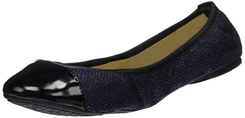 Donna Eva Butterfly Twists Ballerine Navy tp6wq6