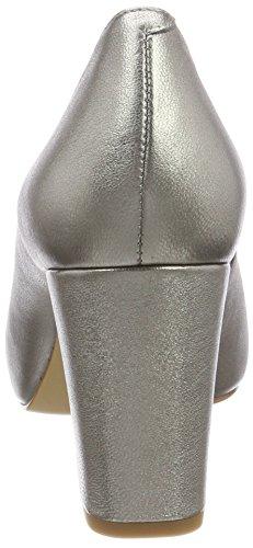 Steel Femme Argent Ouvert LMT Bout Escarpins Unisa 18 Nazo YZq0p8