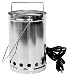 Features a high quality aluminum body. Traditional electric heating element for reliable and consistent operation. Adjustable position of vaporizing cup allows control of temperature. Includes 6 foot power cord, vaporizing cup and wire hanger...