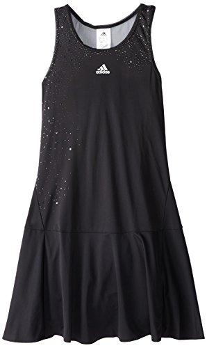 adidas Performance Girl's Adizero Dress, Black/Black, Large