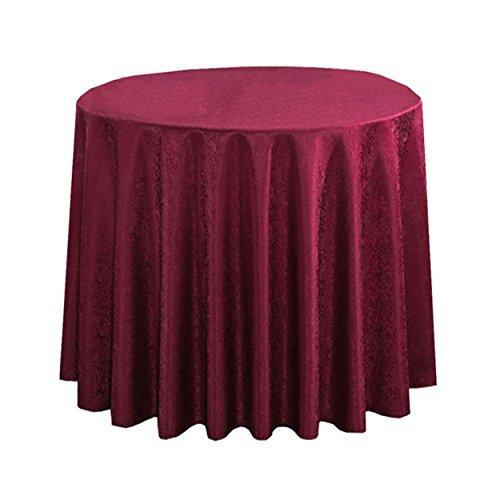 Lshel Double Vineux Floral Carrée Rouge De Beige 380cm D'hôtel Et Nappe Table Rond Ronde 6qwS6r