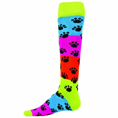 Red Lion Rainbow Paws Socks (Multi Colored - -
