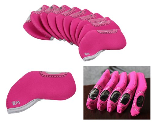 Pink Golf Club Covers - 4